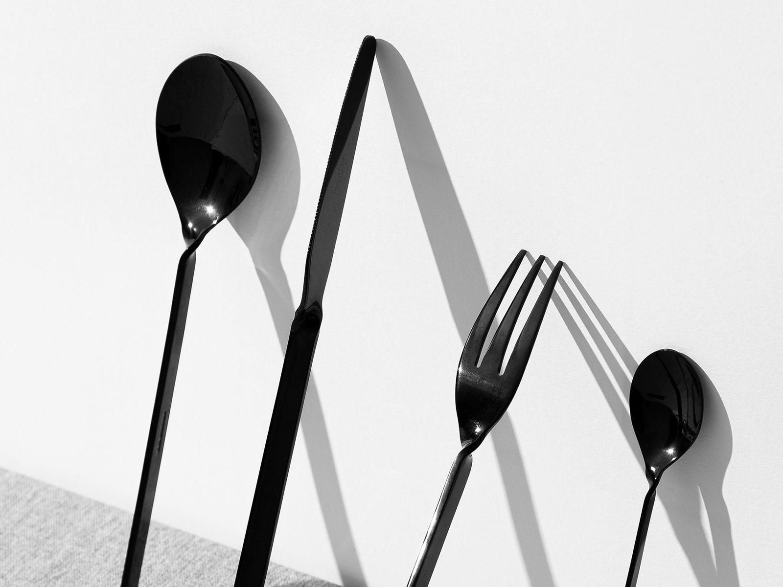 contemporary cutlery set